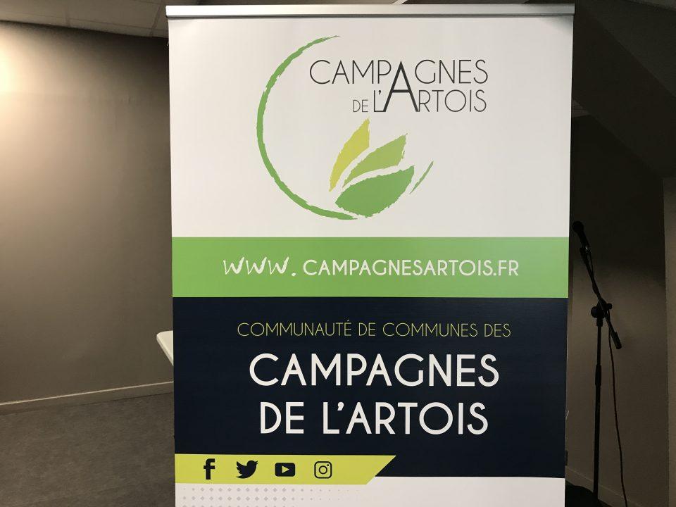 Comcom des Campagnes de l'Artois: Schéma de développement numérique et AMO sur la mise en oeuvre des projets